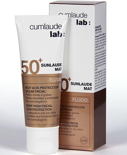 Cumlaude Sunlaude MAT Spf 50+  50 ml