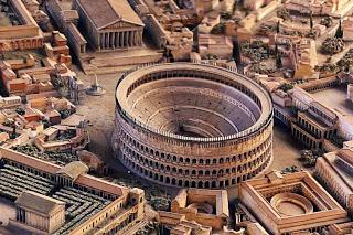 Antigua Roma y coliseo