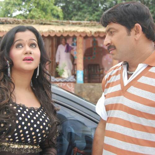 Yadav Pan Bhandar Bhandar Bhojpuri Film Shooting photo