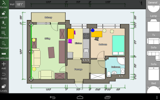 Floor Plane Creator - Aplikasi Desain Rumah 3D Android