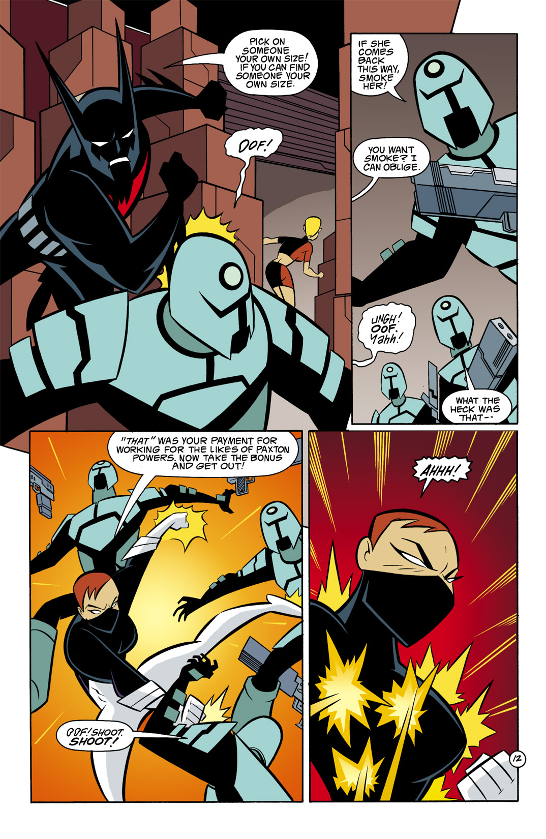 Batman Beyond [II] Issue #8 #8 - English 13