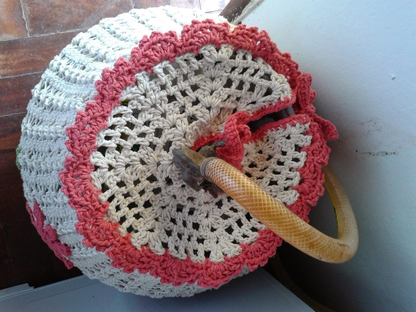 Jogo de cozinha de crochê de grampo | artemania