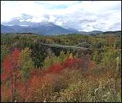 Near Old Hazelton B.C. Hagwilget Suspension Bridge