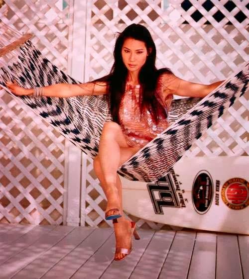 Lucy Liu Hot Asian Celebrity Panty Upskirt