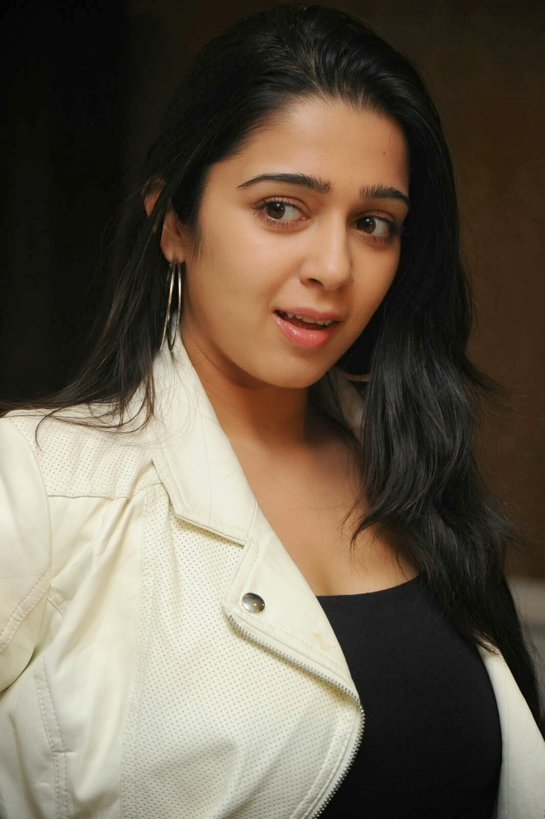 Actress Charmi Kaur Pictures in Jeans at One by Two Movie Celetes 20 Years Event  0036.jpg