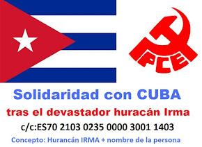 Petición de ayuda a Cuba Huracán IRMA