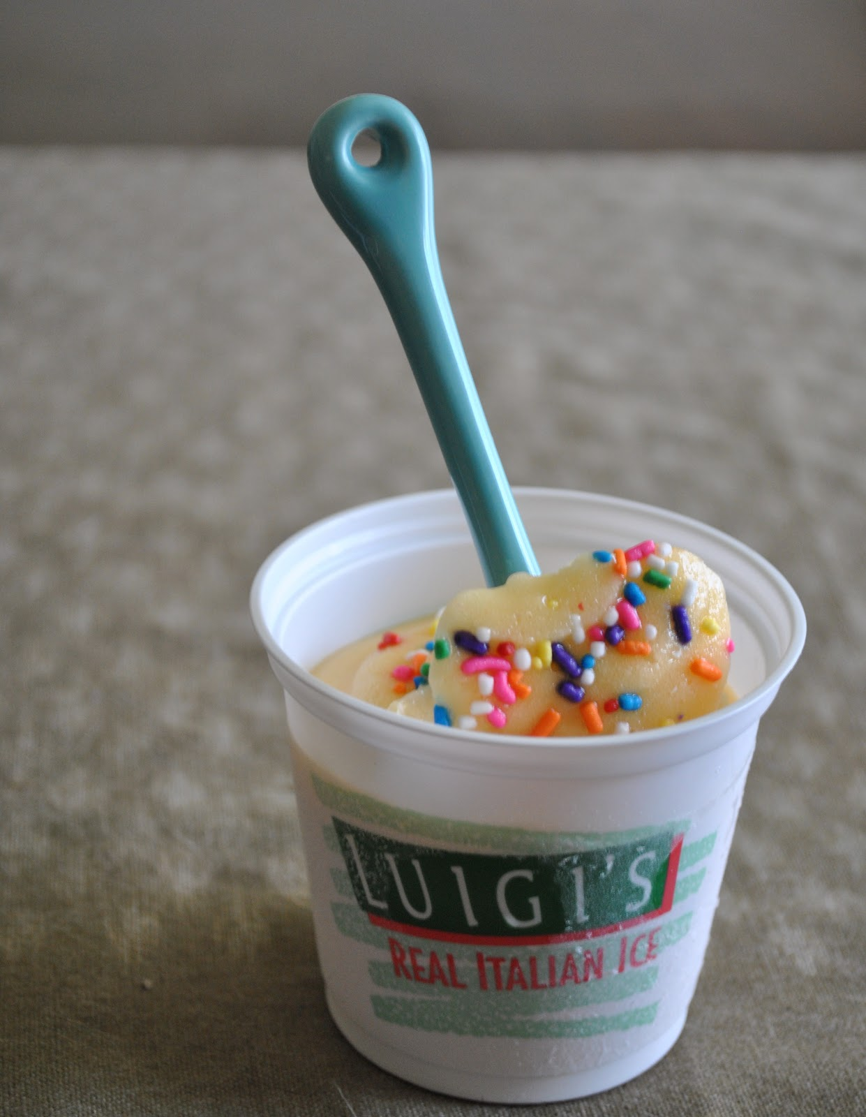 Luigis Limited Edition Birthday Cake Real Italian Ice Foodette