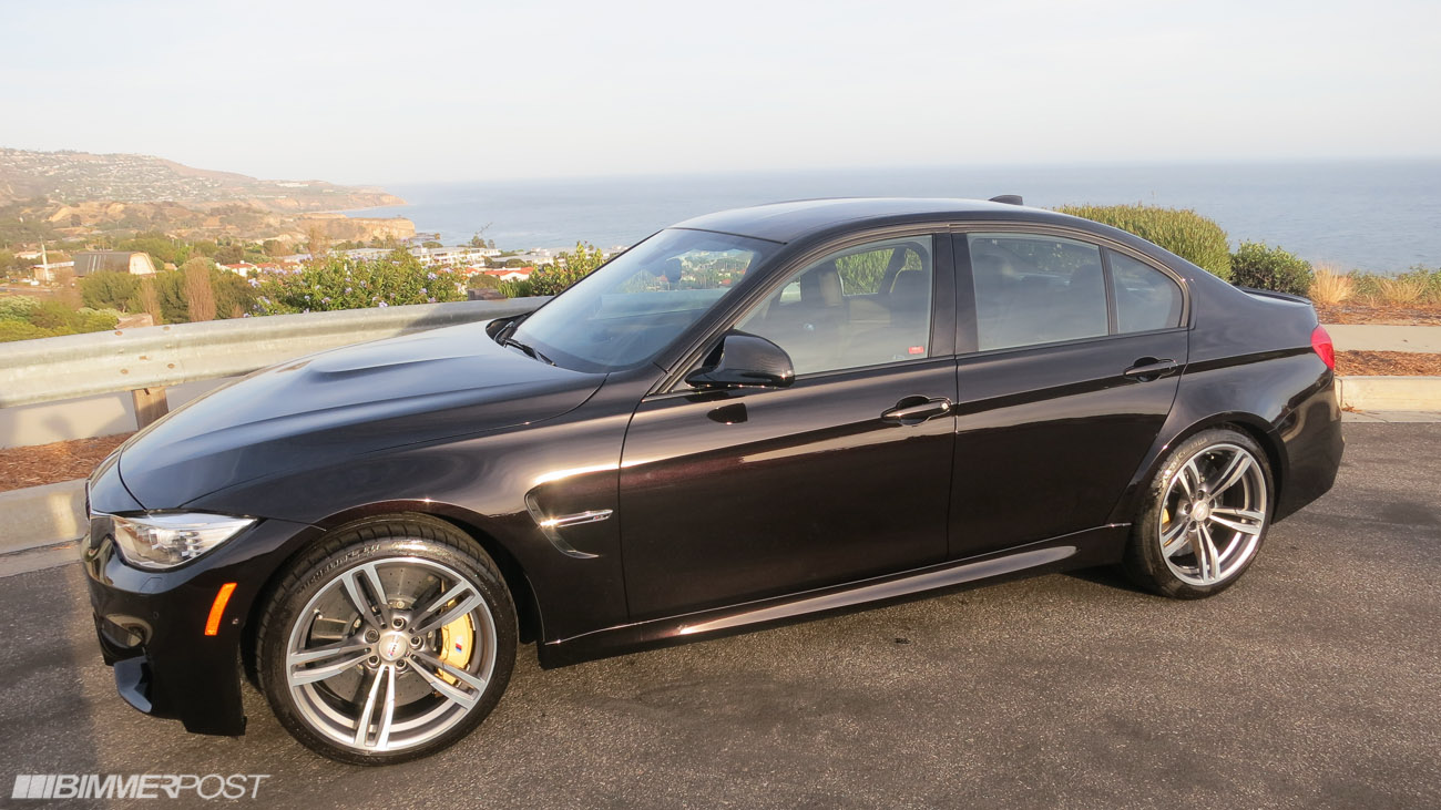 Possibly The Only F80 Bmw M3 In Individual Ruby Black In