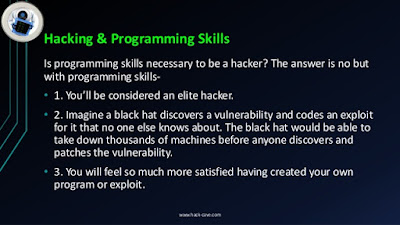 Skills Is programming skills necessary to be a hacker?