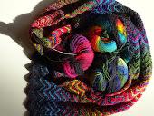 Zickzack shawl