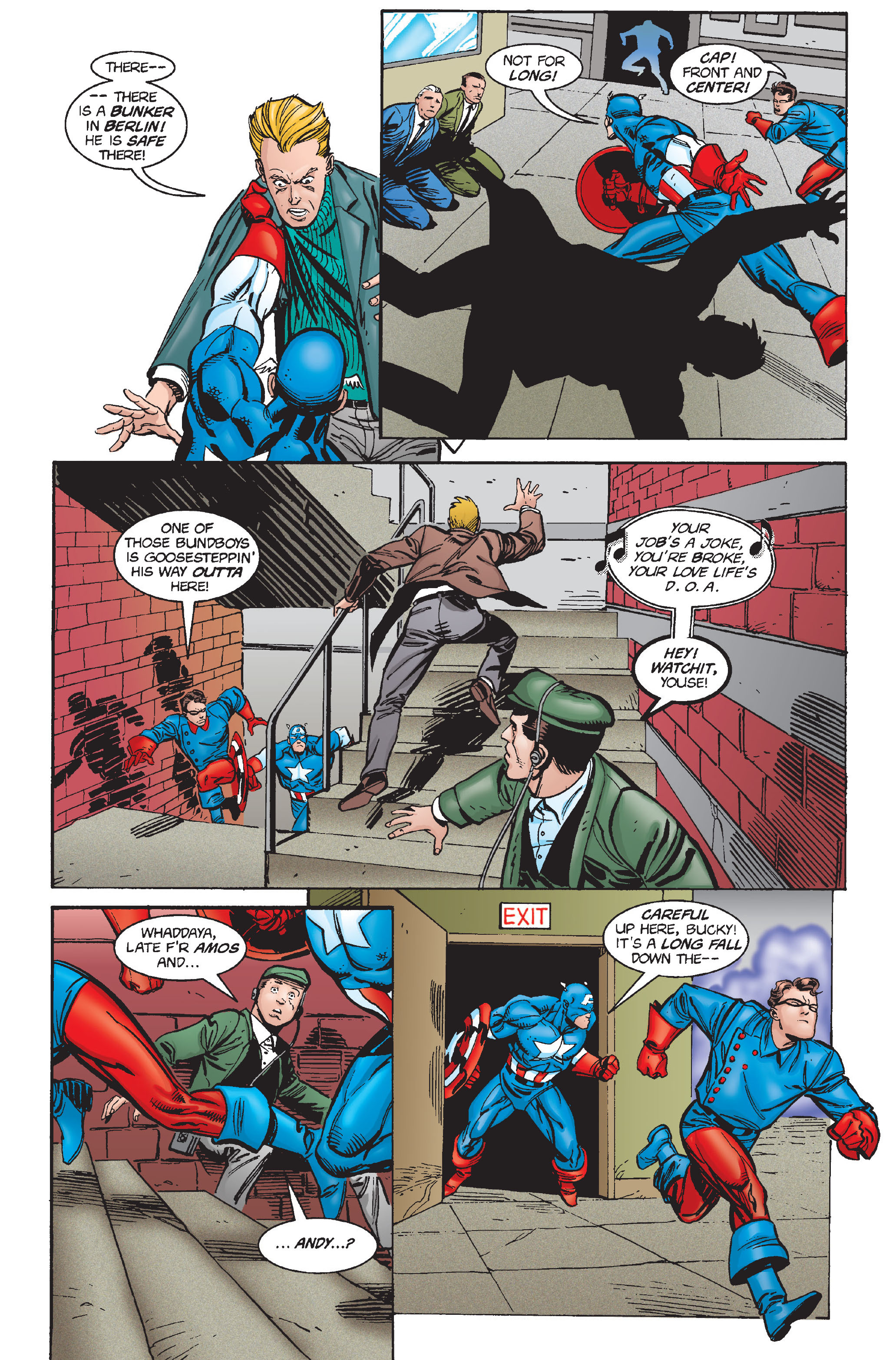 Captain America (1968) Issue #448 #402 - English 15