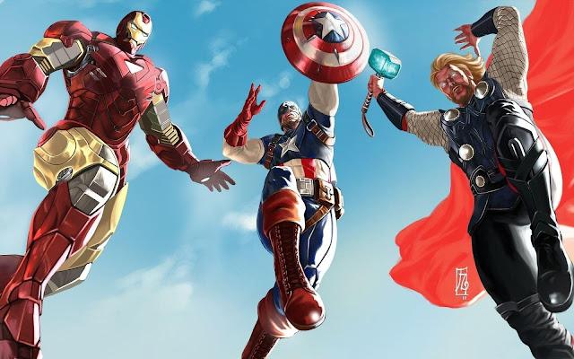 American Super Heroes