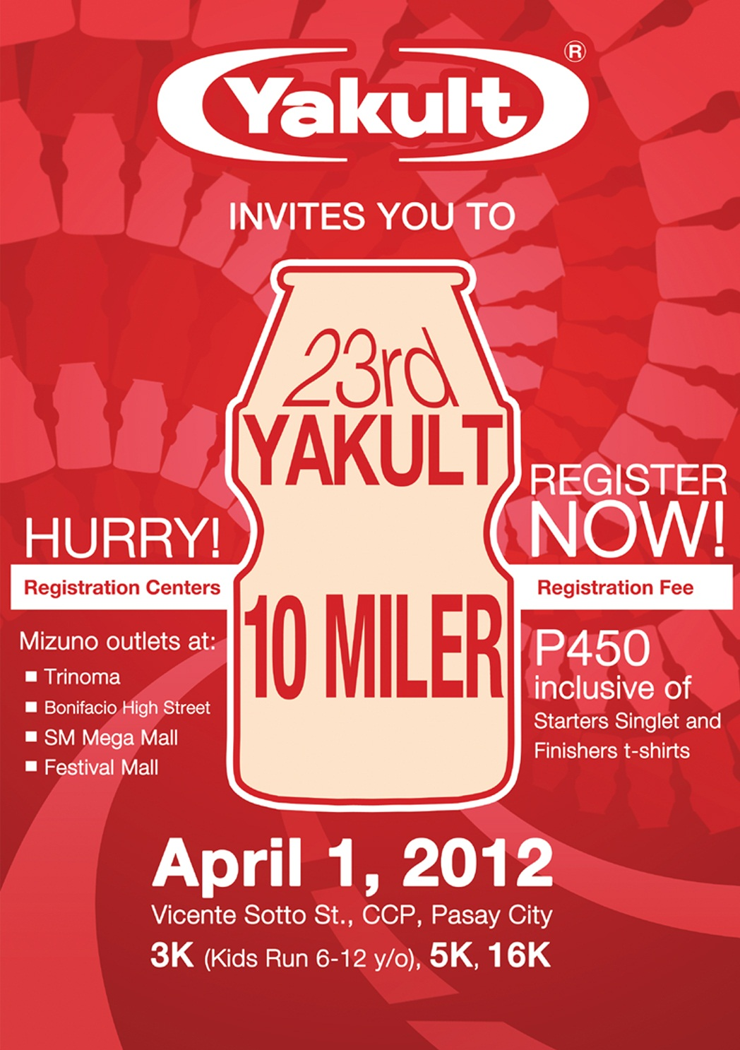 Yakult 23rd yakult 10 milerYakult Ingredients