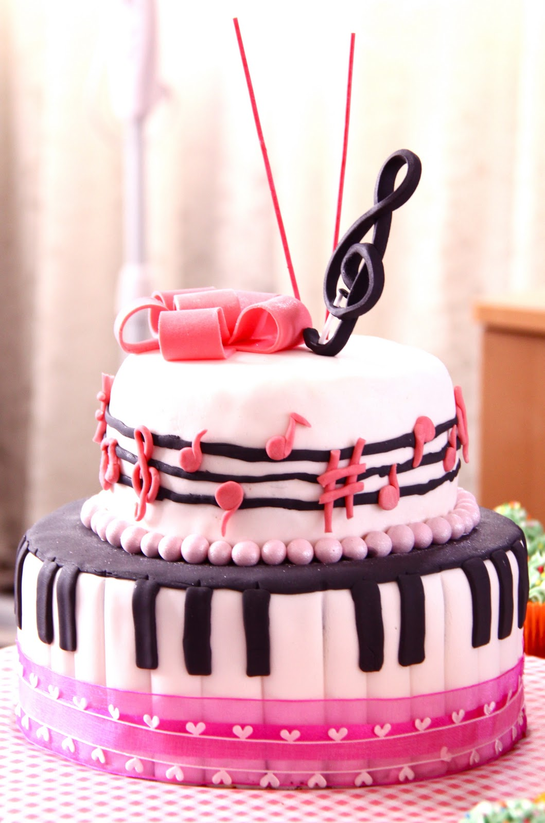 Sweet Art Cakes By Milbre Moments Rikkas Musical Birthday Cake