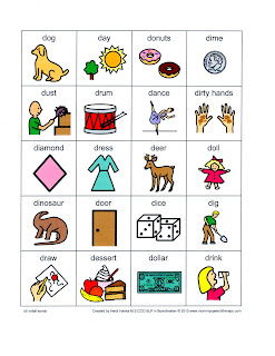 Printables Mommy Speech Therapy Worksheets choosing gratitude june 2011 below are examples of the speech worksheets for initial d sound website also has medial and final letter worksheets