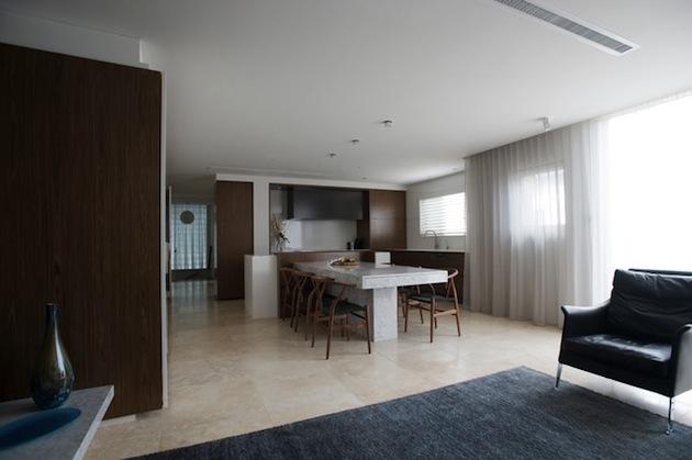 hidden kitchen design. Hidden kitchen design by Minosa Design  INSPIRATIONS AREA