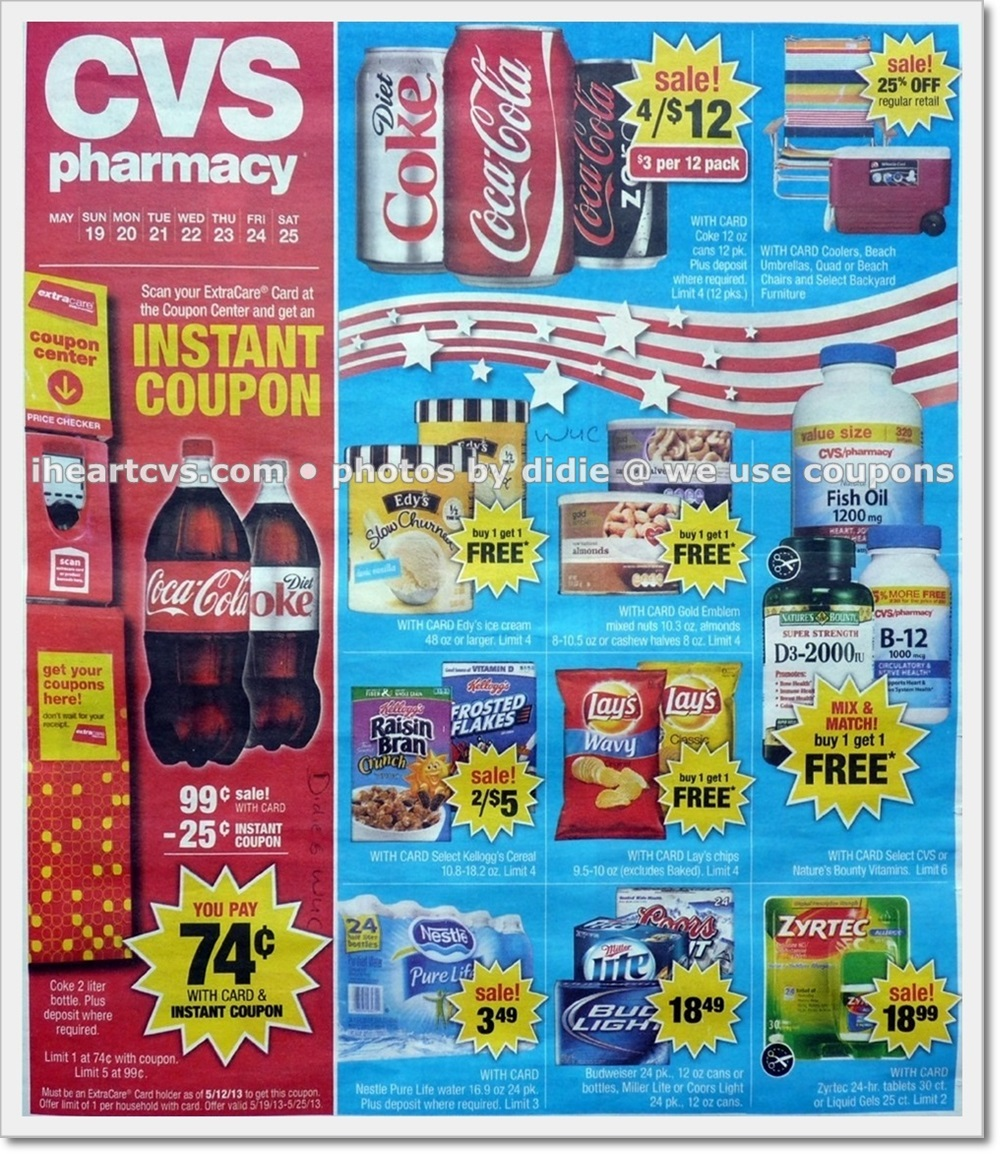 you saved how much  cvs ad scan  week of 5  19 25