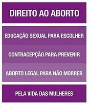 É direito das mulheres