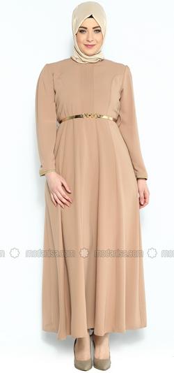 Koleksi Gambar Model Baju Muslim Untuk Wanita Gemuk