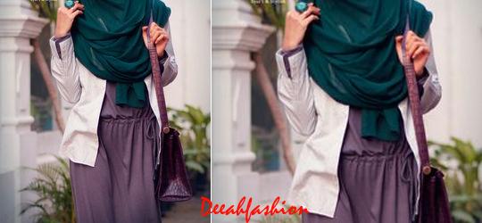 Trend Syari Chic Baju Muslim Panjang