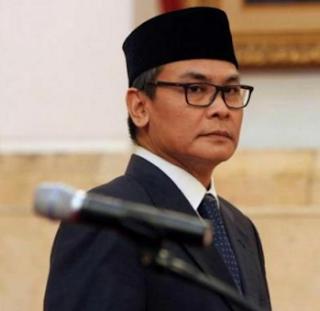 Johan Budi Juru Bicara Presiden Jokowi