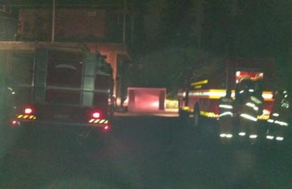 foto lokasi kebakaran datacenter IDC Duren 3