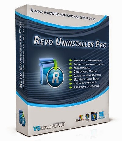 Revo Uninstaller Pro 3.1.2 incl Patch
