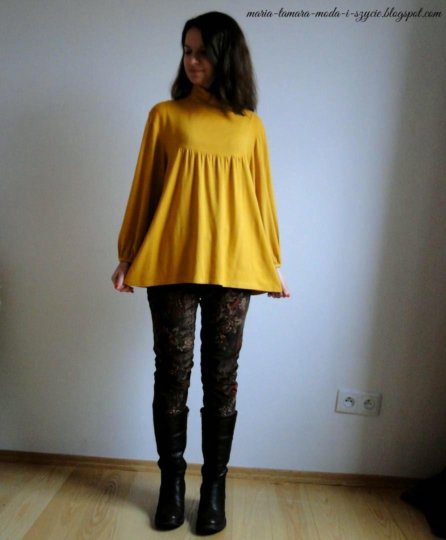 spodnie sztruksowe handmade