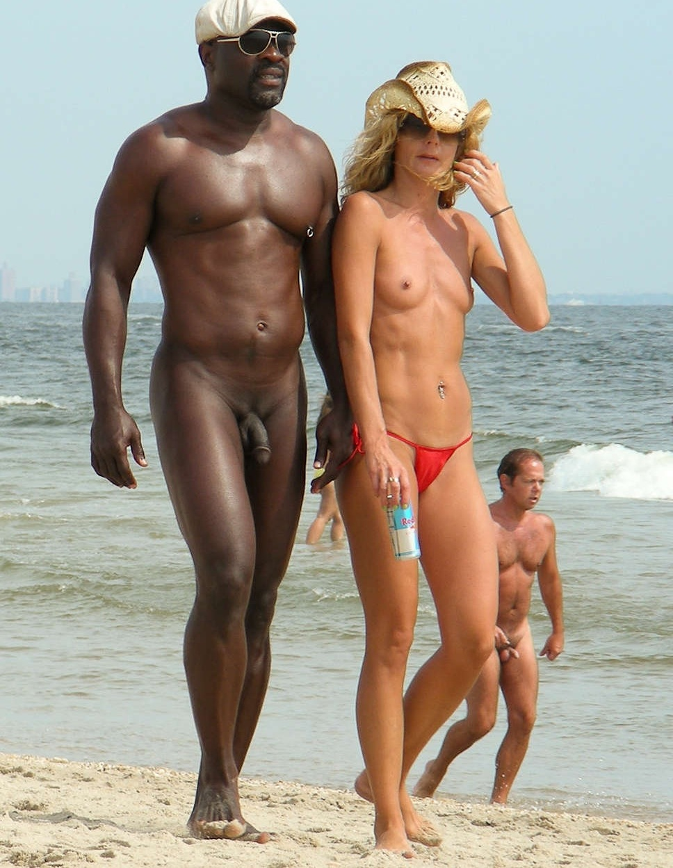 Nudist beach black people
