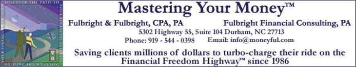 Mastering Your Money Blog