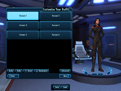 Star Trek Online - Customize Outfit Simple