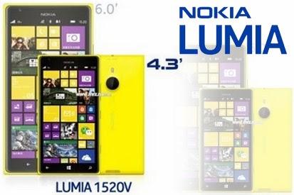 Nokia Lumia 1520V Mini