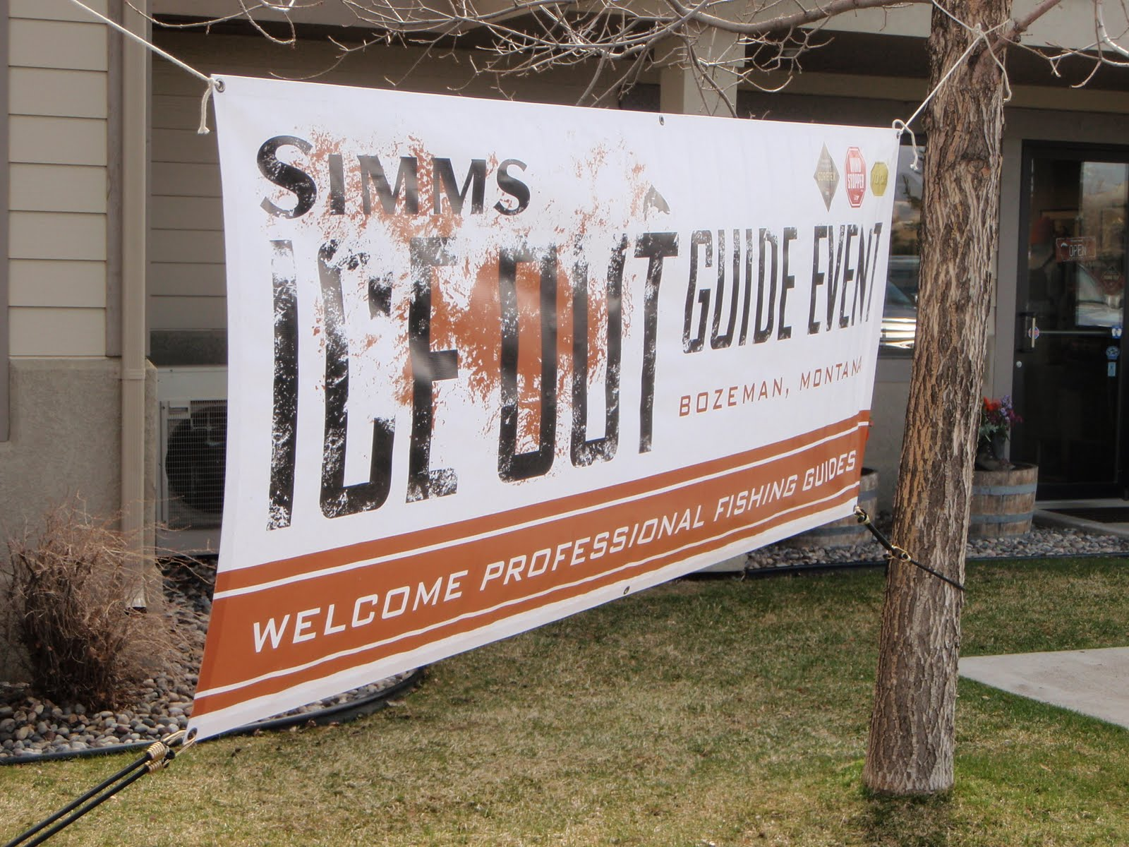 Mountains rivers trout simms ice out day 1 guide for Simms fishing jobs