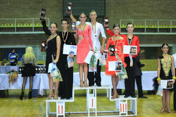 Cupa Valcea - Locul I Open Latino 14-15 ani