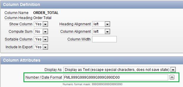 date format definition