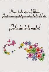 Frases Dia De La Madre: Hoy Es Tu Día Especial Mamá