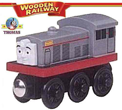 Thomas and friends Frank the diesel is themed Ravenglass and Eskdale Railway diesel Perkins engine