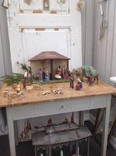Unik julkrubba till salu på tradera!