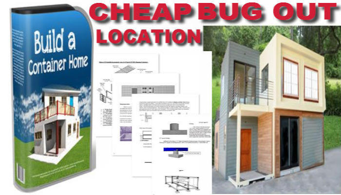 SPONSORED LINK - INFORMATIVE WAY TO SAVE MONEY MAKING YOUR BUG OUT LOCATION, SAFE STRONG & SECURE