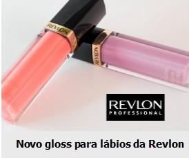 Amostra Gratis Novo Gloss para lábios da Revlon