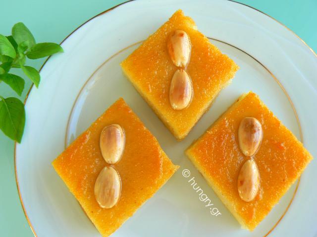 Semolina Cake Samali