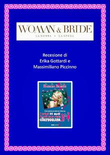 """Recensione sul Magazine """"Woman & Bride"""" di Erika Gottardi e Massimiliano Piccinno"""
