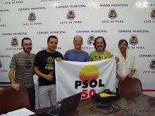 ELEIÇÃO DA NOVA COMISSÃO PROVISÓRIA DO PSOL JF