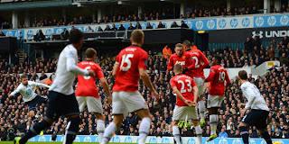 Video Gol Tottenham Hotspur vs Manchester United 1 Desember 2013