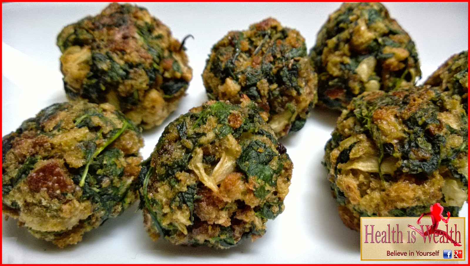 Strong and Beyond: Parmesan Spinach & Kale Balls
