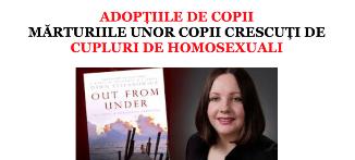 Coaliția pentru Familie — Mărturiille unor copii crescuți de cupluri de homosexuali (1)