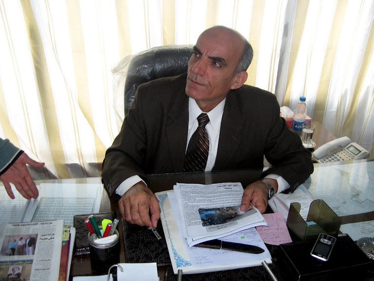 ابراهيم عياد رئيس المدينة