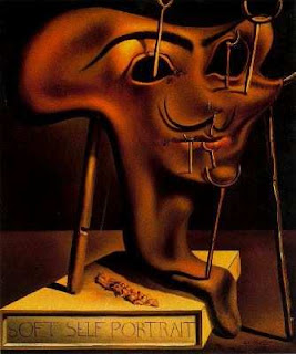 Salvador Dalí Autorretrato blando con tocino frito