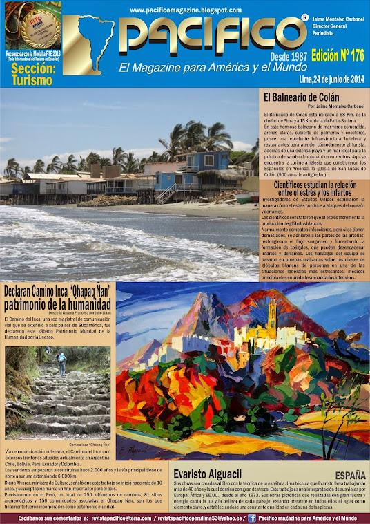 Revista Pacífico Nº 176 Turismo