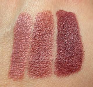 PuroBIO - All Over Lipstick n. 24, 25, 26 - swatches